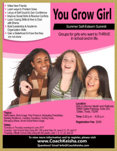 Register for Summer Girls Group Here