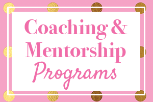 Coaching and Mentorship Programs