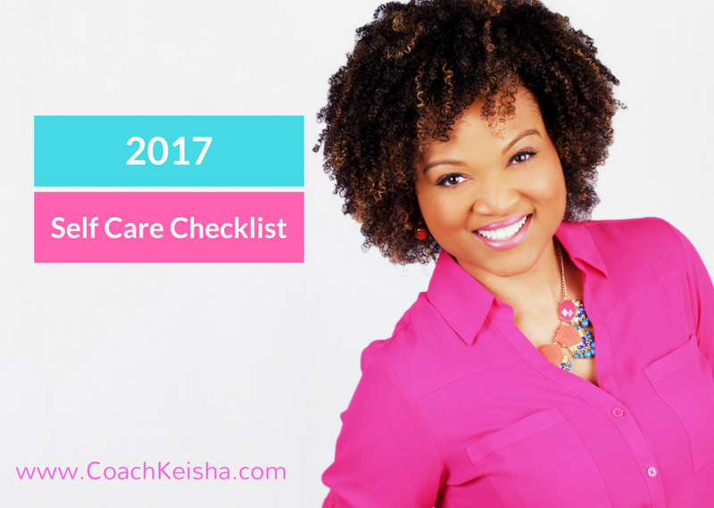 2017 New Years Self-Care Checklist